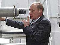 Путин не расстается с лопатой?