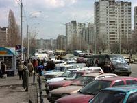 По Киеву лучше ездить... не останавливаясь
