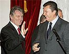 Предвыборные сотни Ющенко и Януковича (обновлено)