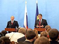 Ющенко и Путин рады возобновлению переговоров