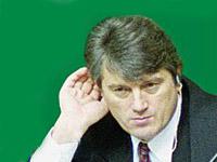 Ющенко был замечен в синагоге. Фото