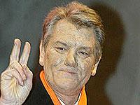 Ющенко показал России кукиш