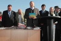 Жители Харьковщины получили землю. В рамках новой программы