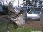 """На Житомирщине водитель """"Вольво"""" убил троих  человек. В том числе и себя. Фото"""