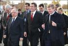 Ахметов радушно принял у себя Ющенко и его компанию. Фото