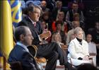 Встреча Ющенко и Тимошенко в прямом эфире. То, чего не было на экранах. Фото