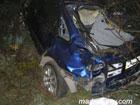 В Крыму «Рено» на полном ходу врезалось в дерево. Без трупов не обошлось. Фото
