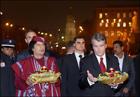 Ющенко «развлек» Каддафи Голодомором. В общем, все как всегда. Фото