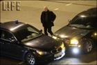 Звездное ДТП в Москве. Столкнулись авто Барщевского и Ширвиндта. Фото