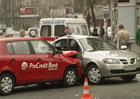 ДТП в Киеве отправило в больницу трех человек. Фото