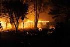 Калифорния объята пожарами. Фото