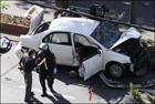 Босс израильской мафии погиб в собственной машине. Фото