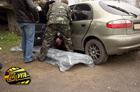 Киевлянин размозжил себе голову, влетев на «Ланосе» в бетонную опору. Кровавые фото