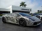 Единственный в мире автомобиль Sharpie Lamborghini продают на аукционе. Цена достигла уже $289950. Фото