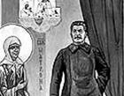 Россия. В храме есть икона с изображением… Сталина. Фото