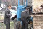В Киеве ЗИЛ расплющил женщину. Фото