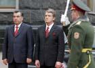 Ющенко по-царски встретил президента Таджикистана. Фото