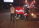 Киев. «Хюндай» сбил пожилого мужчину на пешеходном переходе.  Дед чудом остался жив. Фото