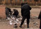 Разборки в духе 90-х на улицах Донецка. Фоторепортаж с места события