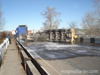 В Крыму на трассе перевернулся бензовоз. Фото