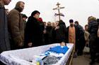 Прощание с игроком «Днепра» Максимом Пашаевым. Фото