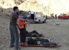 Израиль. Водители автобусов устроили соревнование друг с другом. В результате погибли 30 россиян. Фото