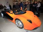 В Москве прошла презентация нового суперкара Marussia. Фото