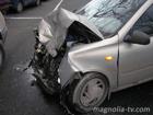 Одесса. В результате столкновений двух авто пострадал случайный прохожий. Фото