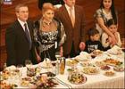Во время дипломатического приема жена Черновецкого поразила всех своей прической. Фото