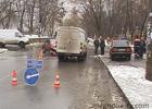 Киевлянин не захотел уступать и разбил несколько машин на перекрестке. Фото