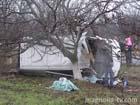 Николаевская область. В результате столкновения микроавтобус пошел кувырком. Результат очень печален. Фото
