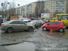 В Одессе в результате столкновения 3 машин пострадал 3-летний ребенок. Фото