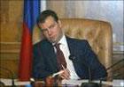Медведев прислал Ющенко поздравительную телеграмму
