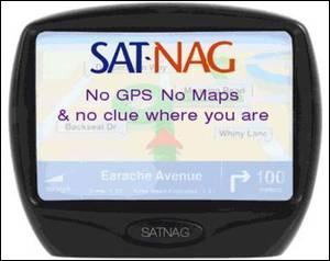 Голосовая навигация (Sat Nav)