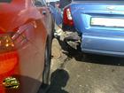 З автомобиля «отрезали» левый берег Киева от правого. Фото