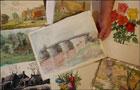 Гитлер любил рисовать собачек и цветочки. Художник, однако. Фото
