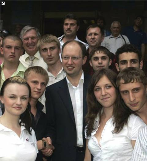 Глумление над Православием, или Зачем Яценюк разделся?