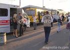 Киев. Полнющая маршрутка въехала в троллейбус. Фото