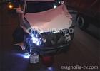 Авария в Киеве. Пассажирка «БМВ» вылетела через окно. Фото