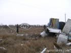 На Хмельнитчине перевернулся грузовик с растворителем. Фото