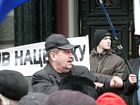 По Киеву прошли недовольные с флагами. А 22 ноября будут судить оранжевую власть. Фото