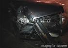 Киев. Фортуна отвернулась от лихача и… разбитые машины полетели на встречную. Фото