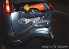Киев. Водитель «Форда» пожалел нерадивого пешехода. И получил мощный удар под зад. Фото