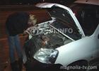 Автопобоище в Киеве. Одним махом разбились 7 машин. Срочно понадобилась помощь медиков. Фото