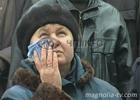 В одной из черкасских общаг рванул телевизор. Мчсникам пришлось потрудиться, чтобы спасти более 30 человек. Фото