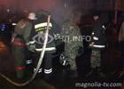 В Киеве, словно свеча, сгорел новенький «Ягуар». Владелец уверен, что это проделки «доброжелателей». Фото