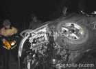Смертельная авария на Донбассе. Спасатели достали из покореженного авто два трупа. Фото