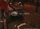 Киев. Сумасшедший водитель на «Шевроле» расписал партейку в бильярд прямо на дороге. Фото