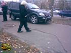 ДТП в Киеве. Разбились очень крутые машины. Фото