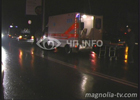 Возле Гидропарка под колеса попали сразу два нерадивых пешехода. Фото
